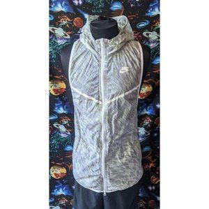 Nike Womens Tech Hyperfuse Hooded Vest M